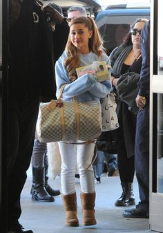 ♥ Ariana Grande's Fashion - Ariana Grande's Cutest Looks - love- she makes me thing of cuddly teddy for some reason ♥