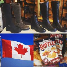 We are loving Canada right now. Not only has @lays just made the BEST Canadian chip flavor available in the U.S. (Seriously get thee to a @7eleven) we just recently received our @lacanadienne winter boots. If there's anything Canadians do best it's potato chips and snow boots #Canada #boots #shoes #instashoes #instaboots #fashion #shopping #simonsshoes