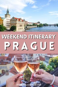 This is the perfect weekend itinerary for visiting Prague! From visiting the Prague Castle to the Charles Bridge to the Old Town Square, this 2 day itinerary covers all the must see sights in Prague. The Republic, Czech Republic, Weekend In Prague, Visit Prague, Charles Bridge, Prague Travel, Prague Castle, Old Town Square, Eastern Europe