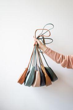 Monk&Anna Farou half moon bag 6 colors - nicenicenice Fiona Walker, Maybe Tomorrow, Drinking Tea, Minimalist Fashion, Anna, Moon, Outfit, Colors, Clothing