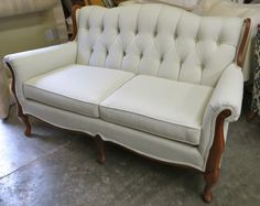 Beau Southern Furniture Vintage Neutral Settee By WydevenDesigns, $775.00