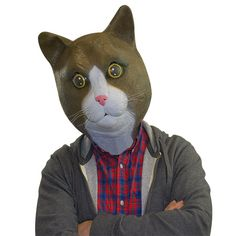 BigMouth, Inc Buster Brown The Cat Mask - YOU NEED THIS MASK RIGHT MEOW