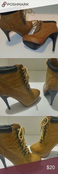 4499eb64be6 71 Best Lace up booties! images in 2016 | Shoes, Shoe boots, Heels