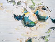 lisa lala. Dimensional brushstrokes get me every time.