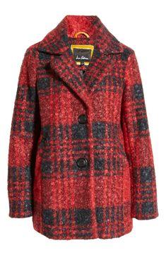 Plaid Teddy Coat   Nordstrom