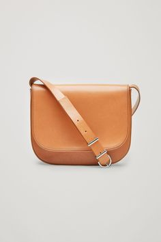 COS image 1 of Small shoulder bag in Tan - Sale! Up to 75% OFF! Shot at Stylizio for women's and men's designer handbags, luxury sunglasses, watches, jewelry, purses, wallets, clothes, underwear