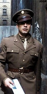 Is there anything hotter than a guy in uniform?  <--- Why yes, Sebastian Stan in uniform.