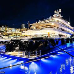 Queen of the night.... . . Follow @____tycoon____ . . . Photo from @j_b_photography__ #yacht #yachting #luxury