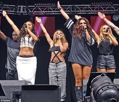 Little Mix - Tatum Bitterling Little Mix Outfits, Little Mix Jesy, Jesy Nelson, Perrie Edwards, Toned Tummy, Cher Lloyd, Stage Outfits, Girl Bands, Mixers