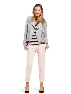 Sussan: pale pink chinos... Cute!