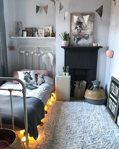 """4,541 Likes, 74 Comments - Kerry Lockwood - In Detail (@kerrylockwood_) on Instagram: """"I wrote a blog post a couple of months ago which was 9 inspiring ideas for non-working fireplaces.…"""""""