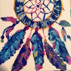 dream catcher art - Google Search