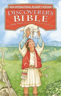 "[""The<i> National Reader's Version Discoverer's Bible<\/i> uses the full text of the NIrV written at a third-grade reading level. It's perfect for early readers to embark on their first exploration of the Bible on their own. <br><br><strong>Features: <\/strong><br><ul><br><li>Large print for easier reading<\/li><li>Thirty full-color pages help kids experience key Bible stories and themes in a fresh way<\/li><li>Dictionary of Bible words for quick reference<\/li><li>Reading plan for the great…"
