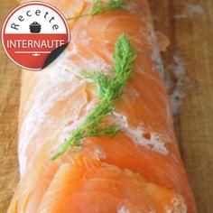 Bûche de saumon, facile et rapide : recette sur Cuisine Actuelle