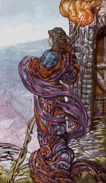 Universal Fantasy Tarot -- Hermit