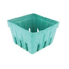 Pactiv Berry Basket Green Pulp  Container Quart