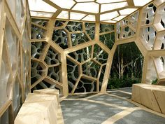 Times Eureka Pavilion - Nex Arcitecture