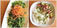 Seaweed Salad and Spicy Fish Bowl Bob Wasabi Kitchen Kansas City  435 Mag
