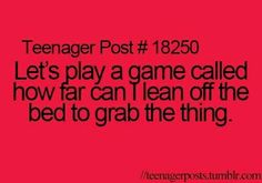 I do this all the time, I'm quite good at it although Penelope likes to tell me that I'm not and that I'll fall