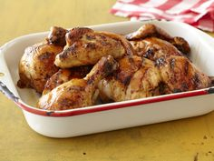 Honey Orange BBQ Chicken from FoodNetwork.com - Pat marinates this chicken overnight for maximum flavor and then grills it to perfection.