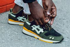 Never thought I'd see this   J. Crew Takes on the ASICS Gel-LYTE III