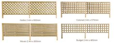 play area fence with lattice panels ASAP