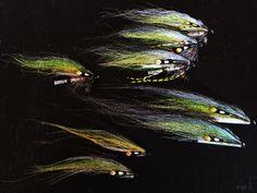 Silver Gray Salmon flies tied by Torve @ scandiflies.com
