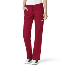 7ebf9782842 Scrub Identity - University of Arkansas Cardinal Women's Straight Leg Cargo  Scrub Pants , $39.99 (