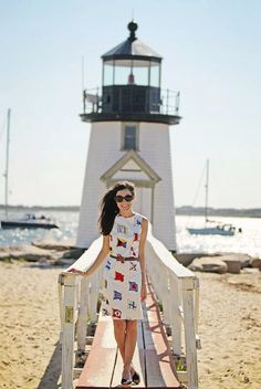 Classy Girls Wear Pearls: Brant Lighthouse, Nantucket