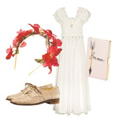 Jane Austen inspired outfit - the dress! the lace!