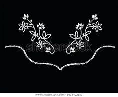 Western Flowers Vector Stok Vektör (Telifsiz) 1014402157 Westerns, Embroidery, Flowers, Silver, Image, Jewelry, Art, Art Background, Needlepoint