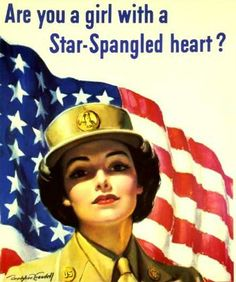 rosie the riveter 1940's | wwii-wac-poster-star-crop.jpg