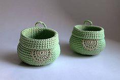 Košíky - Košík - Zelená na zavesenie | zelená dekorácia - 7851555_