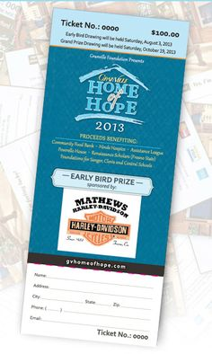 Thank you to our friends at Mathews Harley-Davidson for donating the Early Bird prize for the 2013 Granville Home of Hope. Buy your $100 ticket before Aug 3, 2013 for a chance to win the all new 2013 Harley-Davidson Breakout motorcycle! Then you will still have a chance to win the Granville Home of Hope and 20 other secondary prizes on Oct 19, 2013.