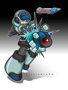Mega No. 9 Mighty 9, Keiji Inafune, Number 9, Mega Man, Robots, Game Art, Video Games, Weird, Character Design