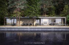 Casa horizontal do arquiteto ucraniano Sergey Makhno