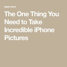 The One Thing You Need to Take Incredible iPhone Pictures — Inverse Technology Hacks, Cool Technology, Computer Technology, Computer Tips, Computer Programming, Energy Technology, Cell Phone Hacks, Iphone Life Hacks, Apple Commercial