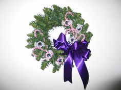 Beaded candy wreath