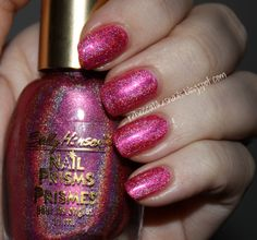 Sally Hansen Nail Prisms - Ruby Diamond --currently on my nails