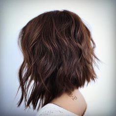 "Buddy Porter on Instagram: ""Textured A-Line ✂️✂️✂️ Haircut and style by @buddywporter #aline #texture #haircut #bob #shorthair #ramireztransalon"""