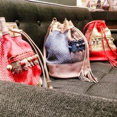 Buboisé bucket bags    #buboisé #buboisébag #fashion #madeinitaly #leather #bucketbag #pink #red #handmade #quality #luxury
