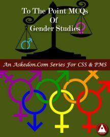 Gender Studies 800 Mcqs Visit Https Www Askedon Com Gender Studies Mcqs For Css Preparation Gender Studies Gender Study
