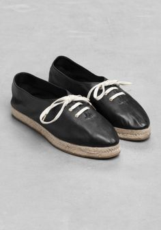 FOR INSPIRATION simple with graphic rose print  black and white  espadrilles. Black And White 284558495e8