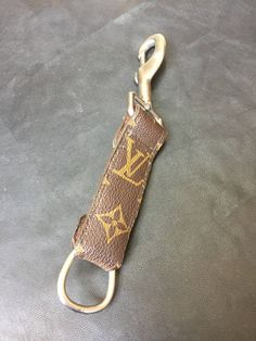 c4774c3cdde Real Louis Vuitton Repurposed LV Key fob belt clip Monogram Canvas Handmade  keyring keychain Heavy Duty Man s