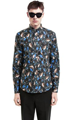Isherwood Print Terazzo Blue/Black