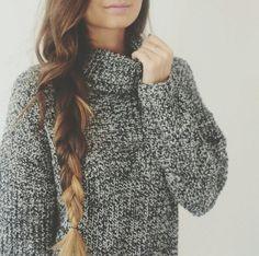 Marled sweater inspiration.