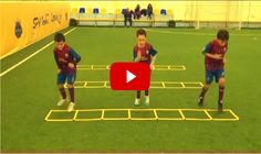 Youth Soccer Drills from Barcelona Academy. The best videos and articles on the web for football coaches.