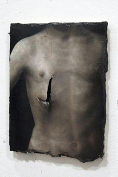 Nicola Samori, ca. 40x30cm, oil/Wood