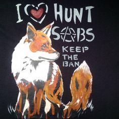 I ´Heart´ Hunt Sabs
