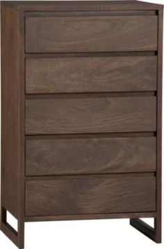koshi tall chest in bedroom furniture   CB2